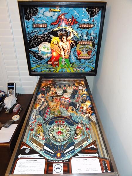 williams flash pinball machine