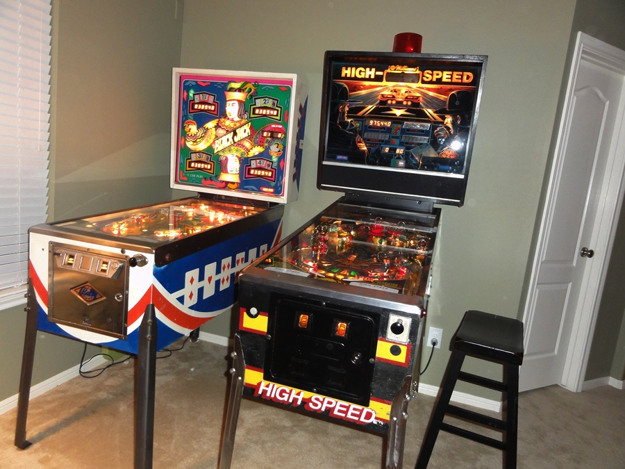 Bally released black jack in 1977 while williams released high speed